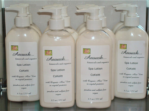 lotion ~ spa cokeitt