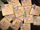 Anoush botanicals and organics Spa Soap Lavender Spice bars gift wrapped