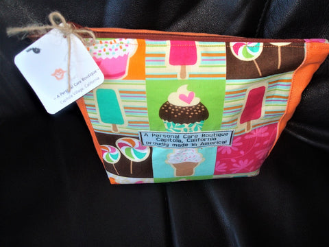 A Personal Care Boutique bag cupcake ice cream trapezoid front