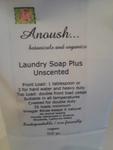 Anoush... botanicals and organics Natural Laundry Soap Plus