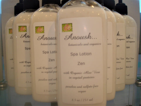 lotion ~ spa zen