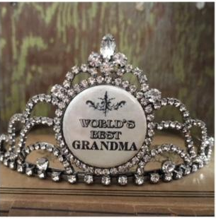 bling ~ tiara world's best grandma