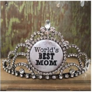 bling ~ tiara world's best mom