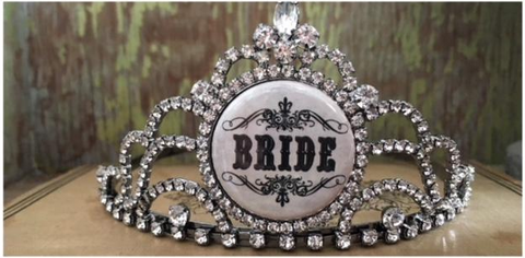 bling ~ tiara bride