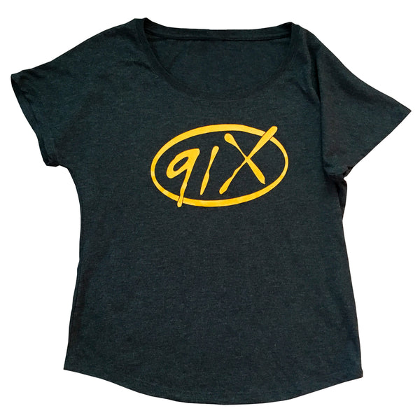 Ladies 91X Logo T