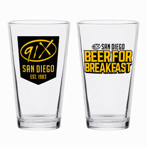 91X Pint Glass