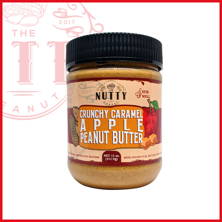 Crunchy Caramel Apple Peanut Butter