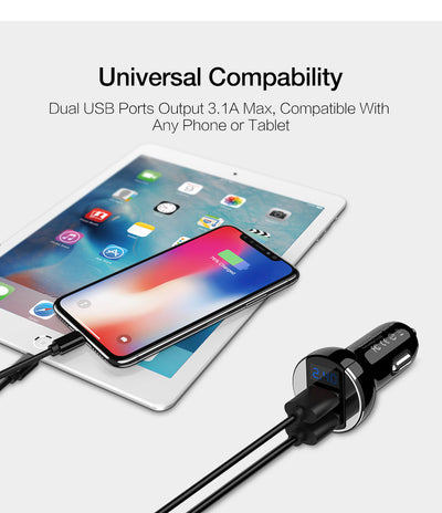 Dual USB Phone Car Charger