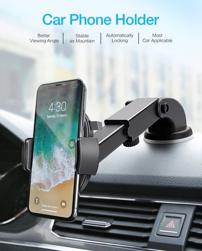 ProHolder - The Best Phone Holder For Your Car - 360° Rotation / Automatic Lock / High Quality