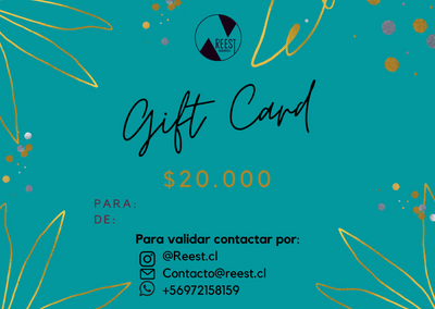 GIFT CARD $20.000