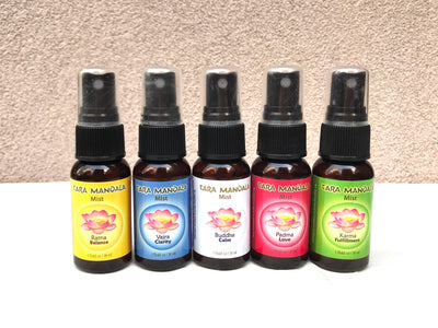 Five Family Aromatherapy Mists - 1 oz