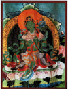 Green Tara Deity Card