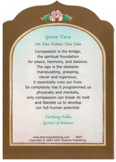 Travel Altar Green Tara