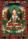 Deity Card - Longevity White Tara