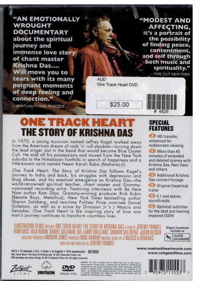 One Track Heart DVD
