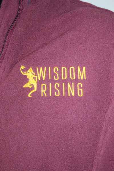 Wisdom Rising Fleece Jacket-womens
