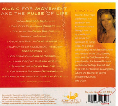 CD - Yoga Sol Compiled by Shiva Rea
