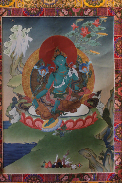 Thangka | Green Tara High I