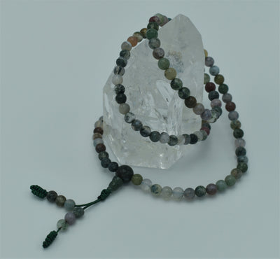Full Mala - assorted small bead gemstones