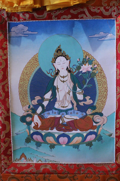 Thangka | White Tara Good I