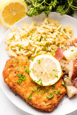 German Schnitzel | best Oktoberfest recipes