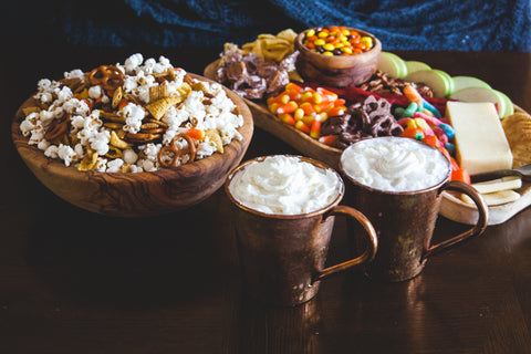 Fall Snack Mix for watching Halloween Movies