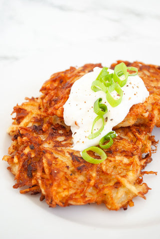 German Potato Pancakes | Oktoberfest Food