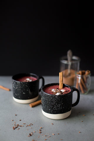 Vesper & Vine Best Hot Chocolate Vegan Beet Hot Chocolate