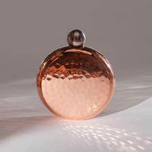 Load image into Gallery viewer, Handmade Round Copper Flask - Vesper & Vine