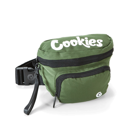Cookies Environmental Fanny Pack PRE-ORDER ONLY yoga, yoga smokes, tattoo, face, nails, nail, glass retail, online, web, weborder, website, tanks, lounge, odor, smoke shop near me, liquid smoke, smoke shop, lounge, smoke lounge, stoner, smoke, high, life, highlife, dabber, love, stoned, highsociety.