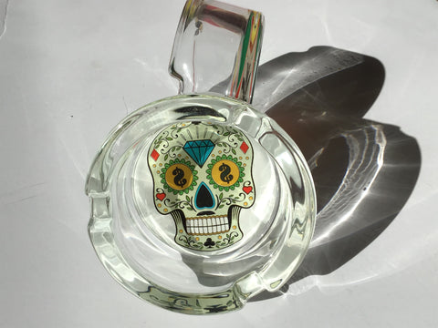 Money Skull Design Glass Ashtray yoga, yoga smokes, tattoo, face, nails, nail, glass retail, online, web, weborder, website, tanks, lounge, odor, smoke shop near me, liquid smoke, smoke shop, lounge, smoke lounge, stoner, smoke, high, life, highlife, dabber, love, stoned, highsociety.