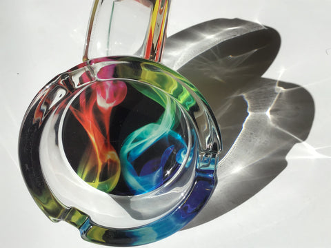 Lights Highest Quality Leaf Design Durable Glass Ashtray yoga, yoga smokes, tattoo, face, nails, nail, glass retail, online, web, weborder, website, tanks, lounge, odor, smoke shop near me, liquid smoke, smoke shop, lounge, smoke lounge, stoner, smoke, high, life, highlife, dabber, love, stoned, highsociety.