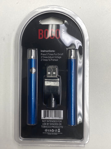 VAPE BATTERY BOGO 400mAH CE3 2pcs CHARGER KIT