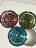 Indica Highest Quality Design Durable Glass Ashtray yoga, yoga smokes, tattoo, face, nails, nail, glass retail, online, web, weborder, website, tanks, lounge, odor, smoke shop near me, liquid smoke, smoke shop, lounge, smoke lounge, stoner, smoke, high, life, highlife, dabber, love, stoned, highsociety.