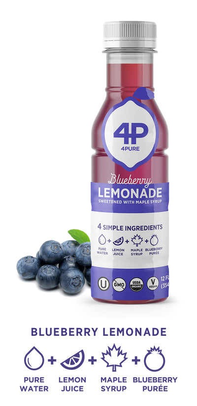 10-Pack Blueberry Lemonade 12oz Bottles