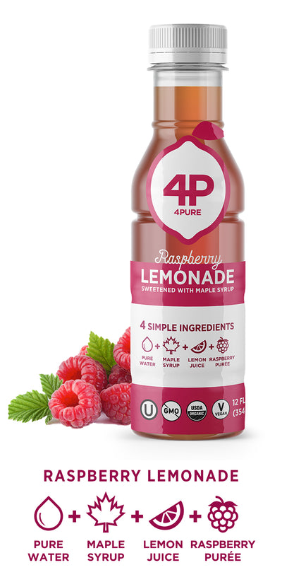 10-Pack Raspberry Lemonade 12oz Bottles