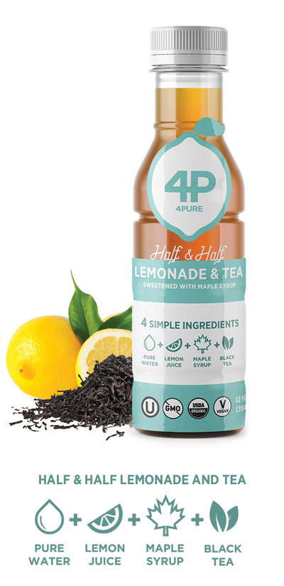 10-Pack Half & Half Lemonade and Tea 12oz Bottles