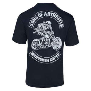 Ibuprofen Chapter Short Sleeve Dri-Fit Biker T-Shirt