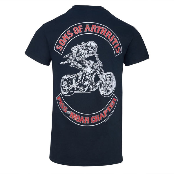 Piss & Moan Chapter Short Sleeve Biker T-shirt