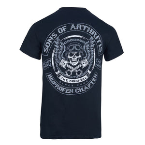 Sons of Arthritis Skull & Pistons Dri-Fit Biker T-Shirt