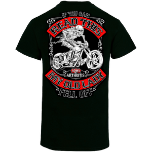 Sons of Arthritis If You Can Read This Biker T-Shirt