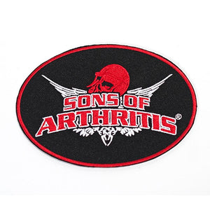 "Sons Of Arthritis Original 3"" X 5"" Patch"