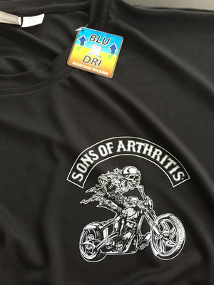Sons of Arthritis Hydrocodone Chapter Dri-Fit Tee