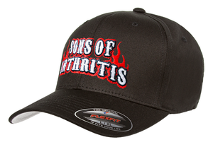 "Sons of Arthritis ""FLEXFIT"" Logo cap"