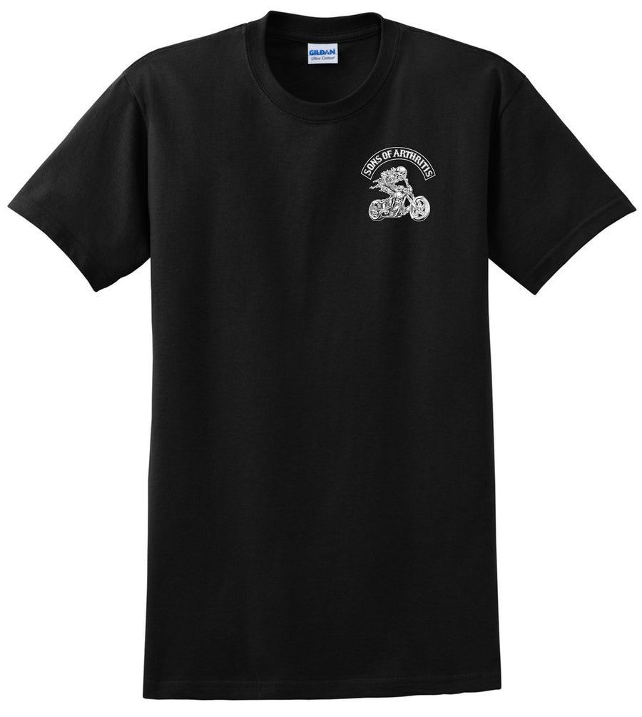Sons of Arthritis Ibuprofen Chapter Tee (BLACK & WHITE)