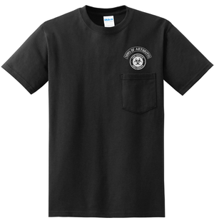 Sons of Arthritis Limited Edition QUARANTINE CHAPTER TELL THE COP POCKET Short Sleeve 100% Cotton Biker T-shirt?