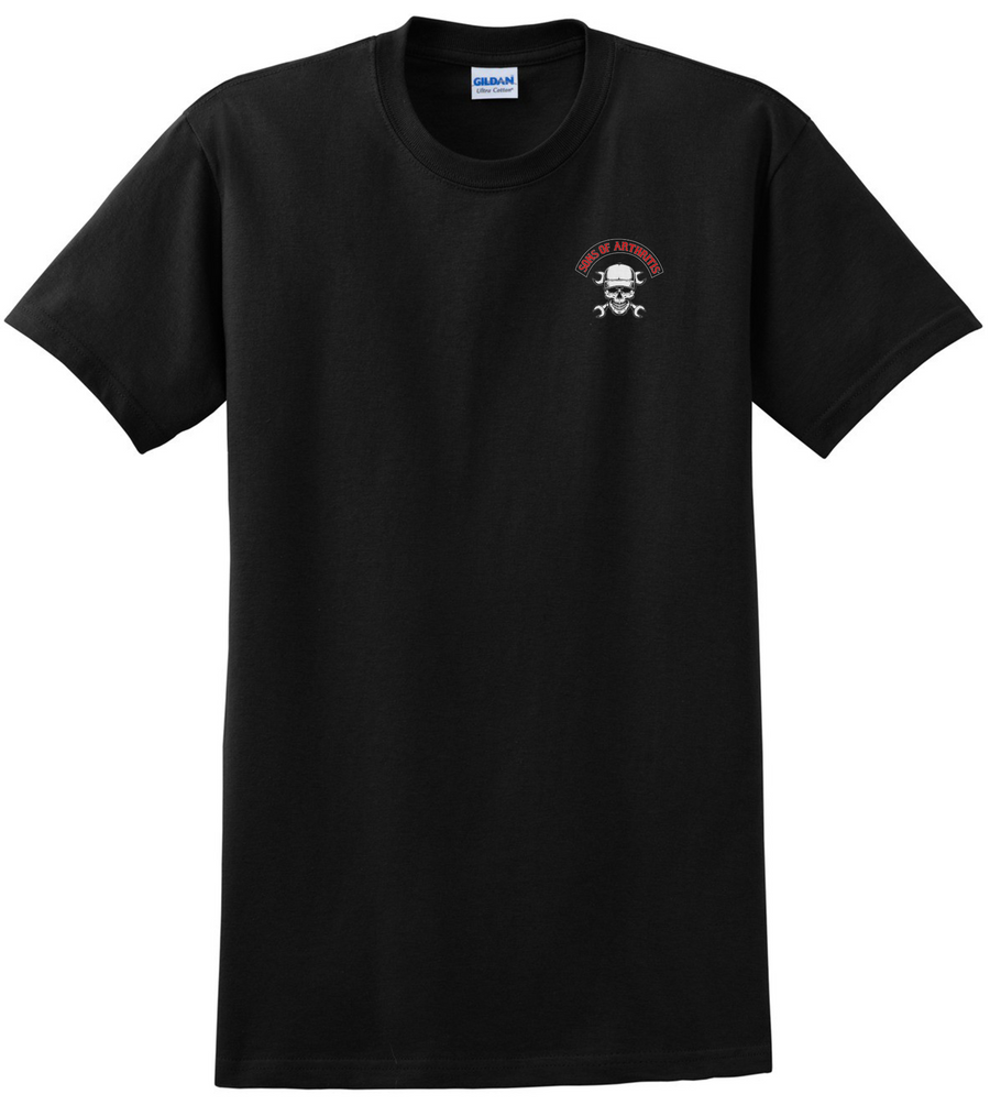 Sons of Arthritis WORKS SUCKS CHAPTER Tee (Black)