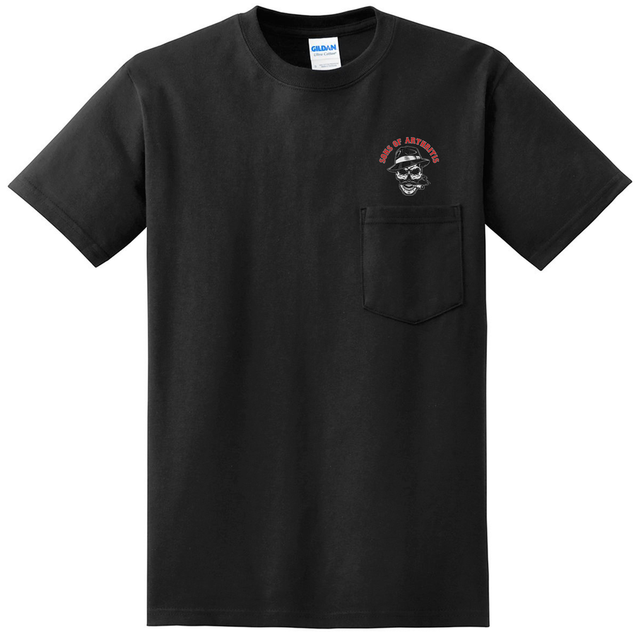 SONS OF ARTHRITIS DIRTY OL' MAN Pocket T-Shirt