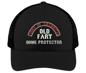 Sons of Arthritis OLD FART DOME PROTECTOR Cap