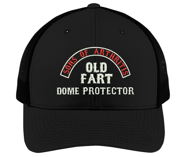 Copy of Sons of Arthritis OLD FART DOME PROTECTOR Cap